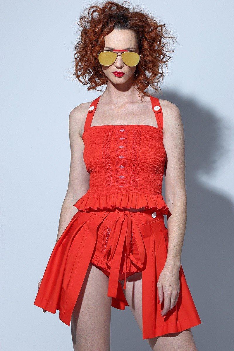 Top Afrodita Rojo