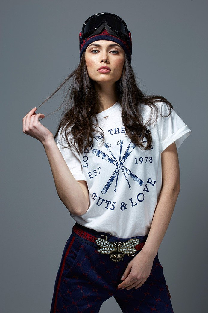 LOVE IN THE SNOW TEE