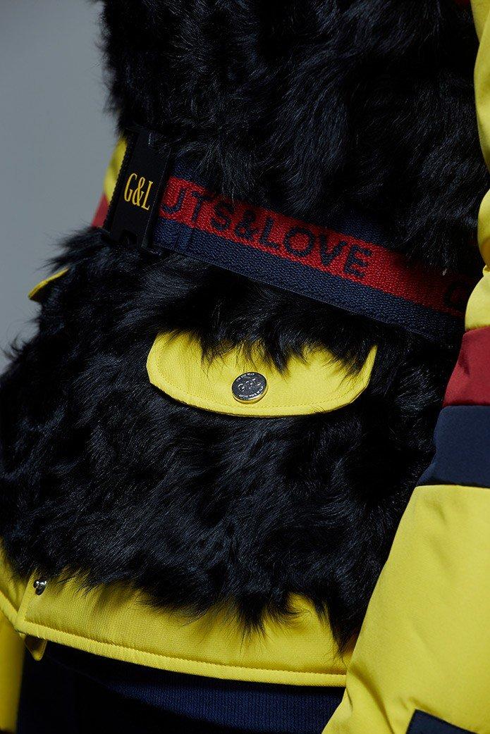 GUTS&LOVE LOVE, HATE & FREEDOM JACKET