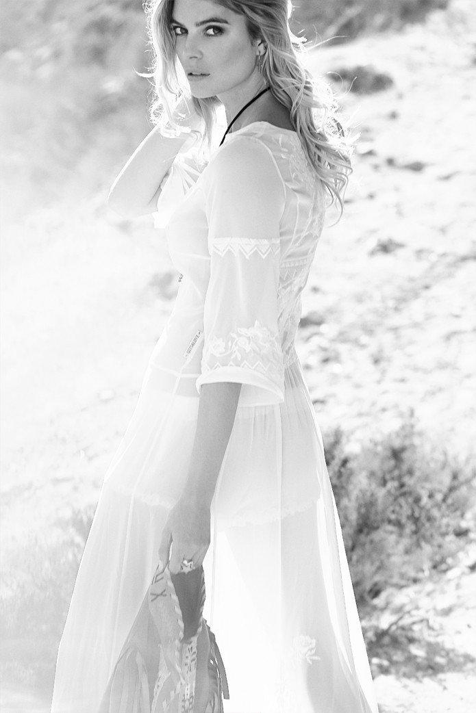 GUTS&LOVE HUPA Long White