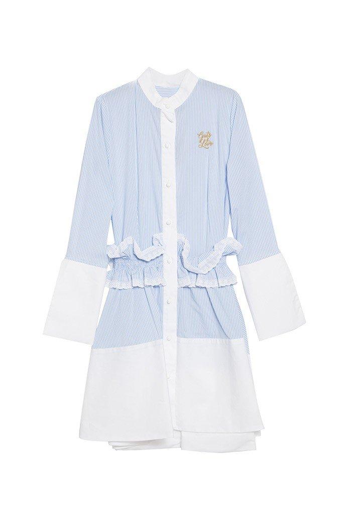 LIGHT BLUE MOON DRESS