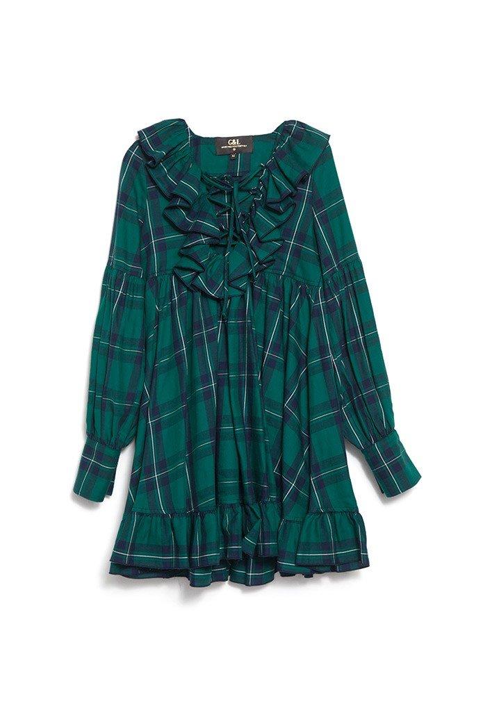 IRISH TARTAN DRESS