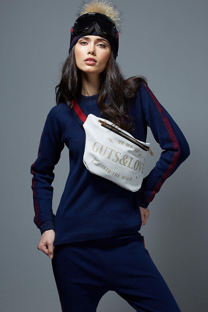 GUTS&LOVE G&L BELT BAG WHITE