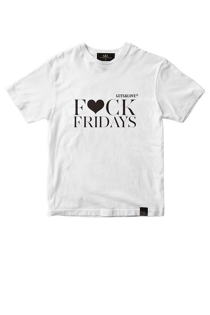 GUTS&LOVE Fuck Fridays  Special Edition Tee