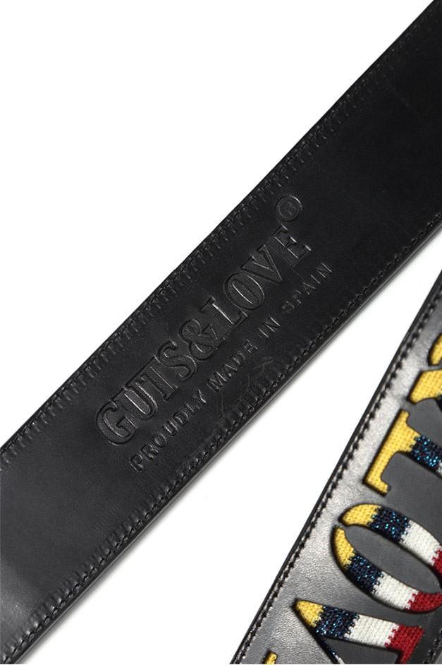 GUTS&LOVE G&L QUATTRO COLORI BAG STRAP NEGRO