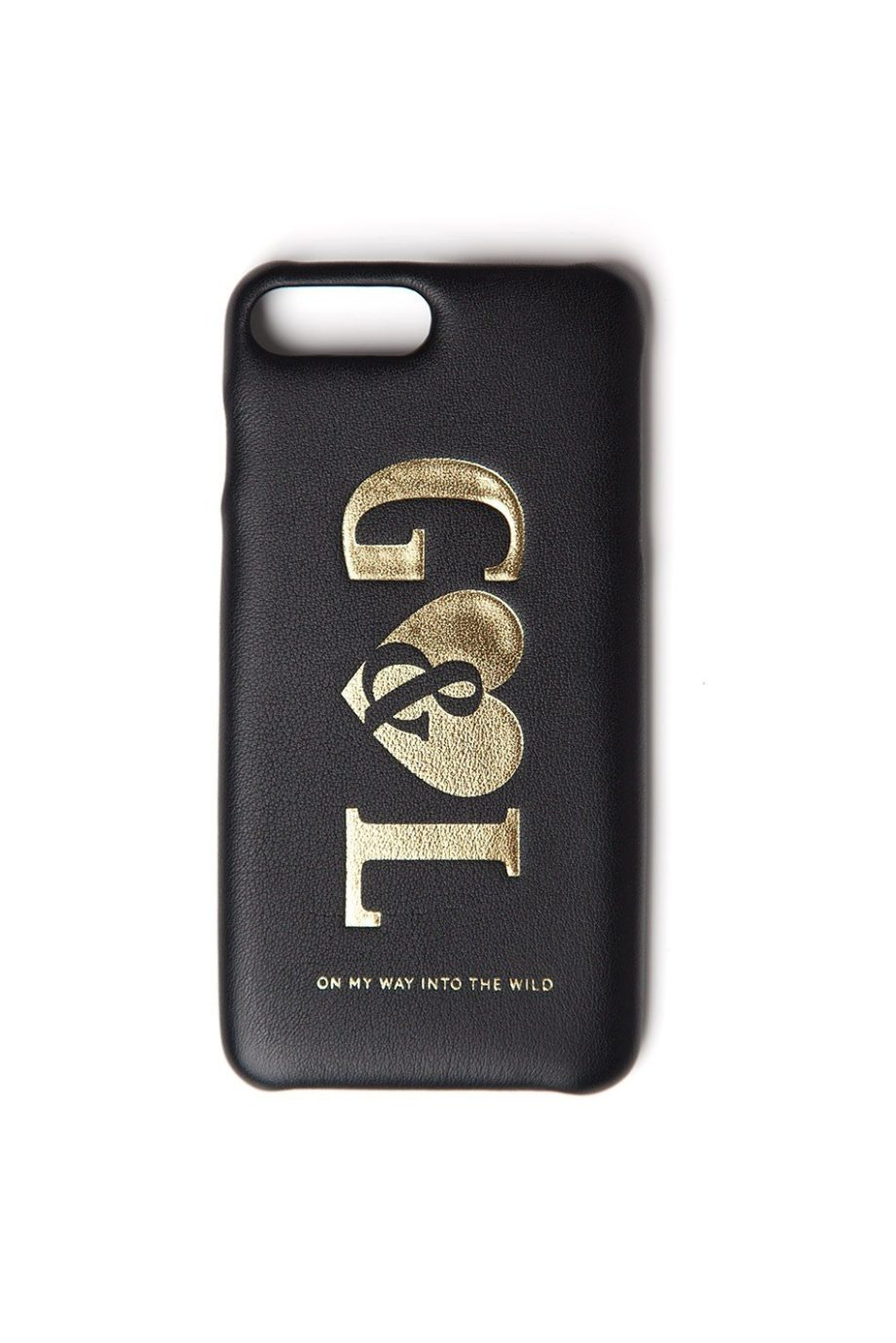 G&L On My Way Into The Wild Case iPhone 6/7/8 Plus BLACK