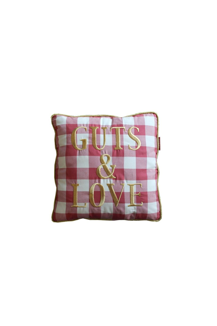 G&L Vichy Cushion Rojo Big (45 x 45)