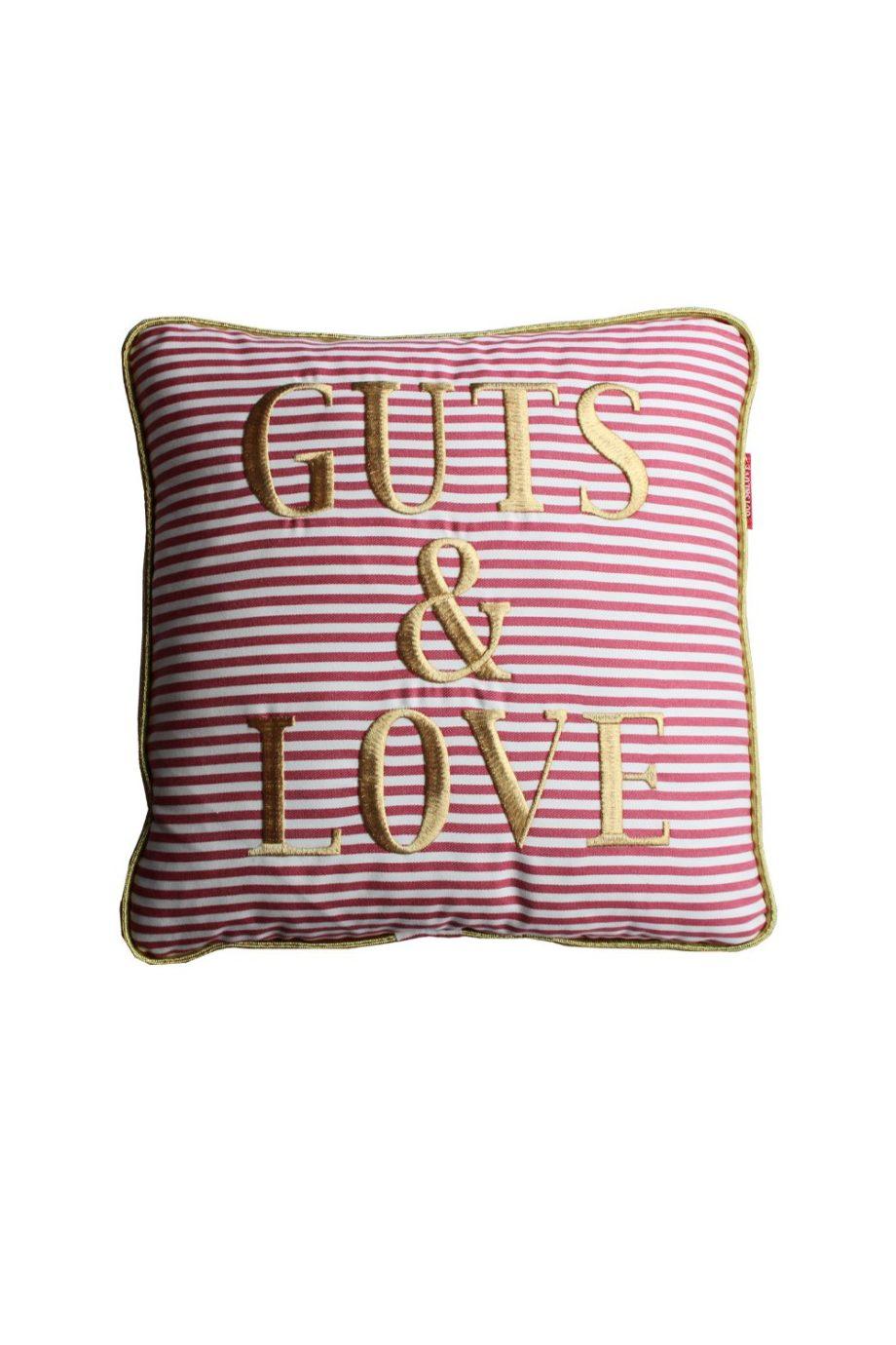 GUTS&LOVE G&L Stripes  Cushion Rojo Small (45 x 45)