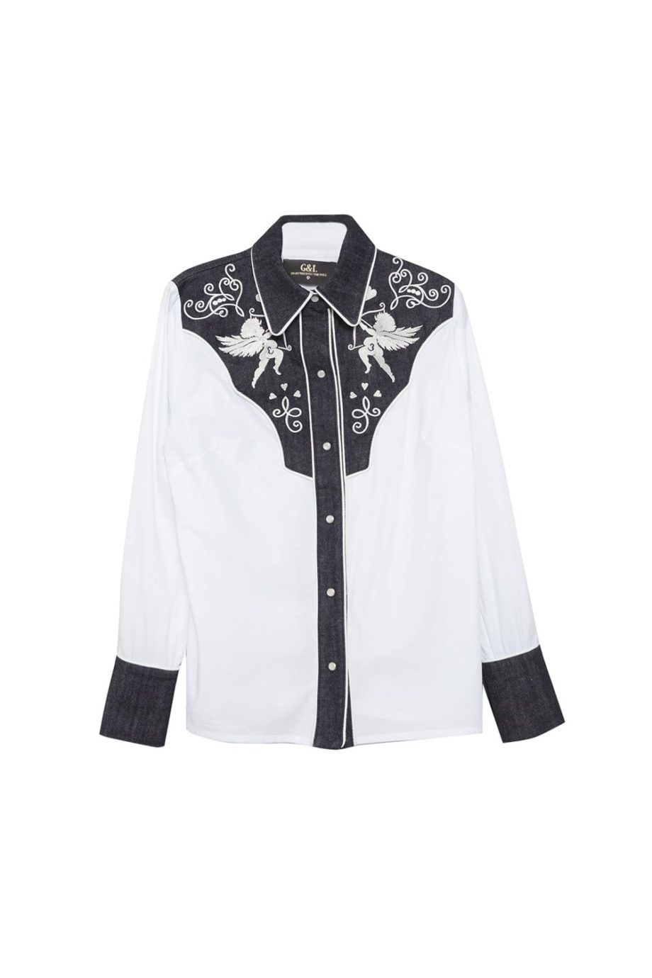 POPELIN JEAN SHIRT
