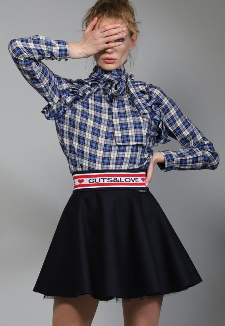 Falda FLAWLESS SKIRT color negro de Guts and love