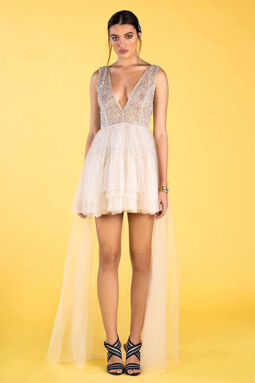 Guts and love. Vestido Sparkle Dream de la colección primavera verano 2020 Underneath the star