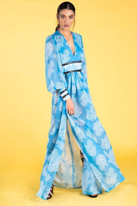Guts and love. Vestido largo Fatima heaven de la colección primavera verano 2020 Underneath the star