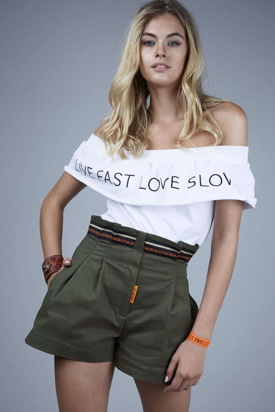 LIVE FAST LOVE SLOW TEE