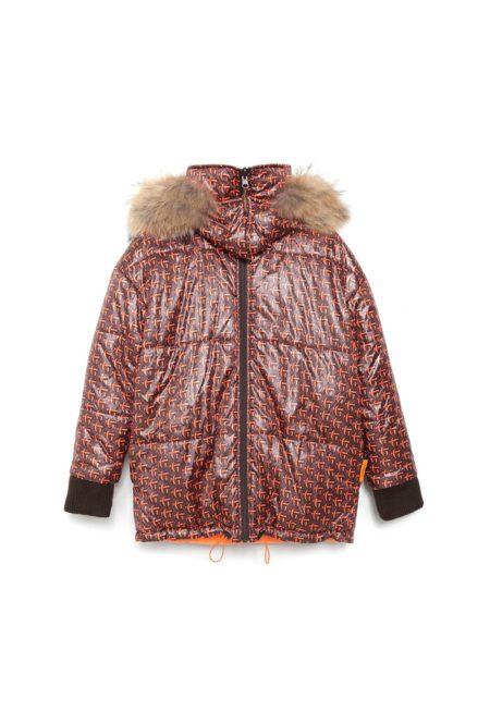 Silueta de la chaqueta acolchada reversible G&L PADDED JACKET de Guts and love.