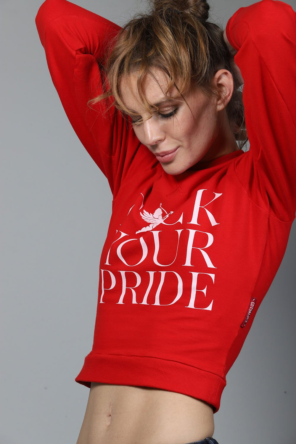 Sudadera F*CK YOUR PRIDE SWEATSHIRT de la colección Touché de Guts and love