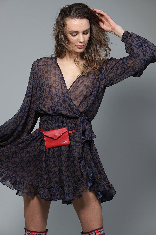 Vestido Monogram de otoño invierno colección Touché de Guts and love