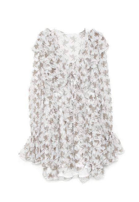 Silueta del vestido ANGEL DRESS de otoño invierno colección Touché de Guts and love