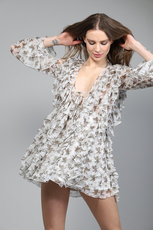 Vestido ANGEL DRESS de otoño invierno colección Touché de Guts and love