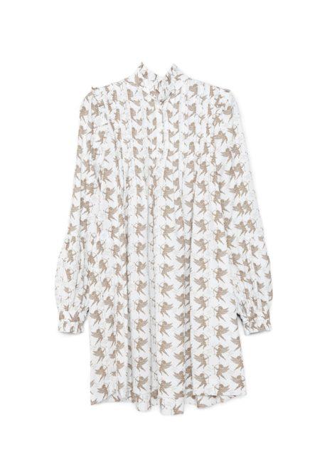 Siluesta del vestido WHITE ANGEL de otoño invierno colección Touché de Guts and love