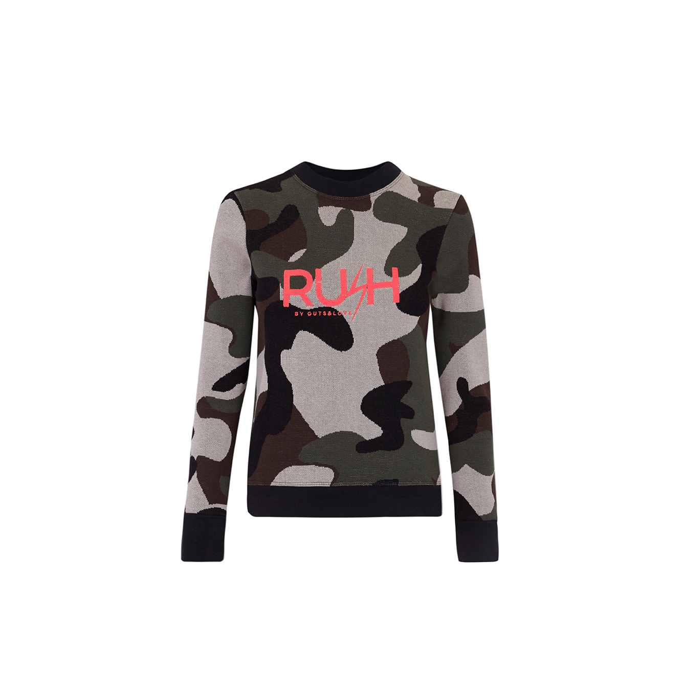JERSEY CAMO JUMPER RUSH by Guts&Love