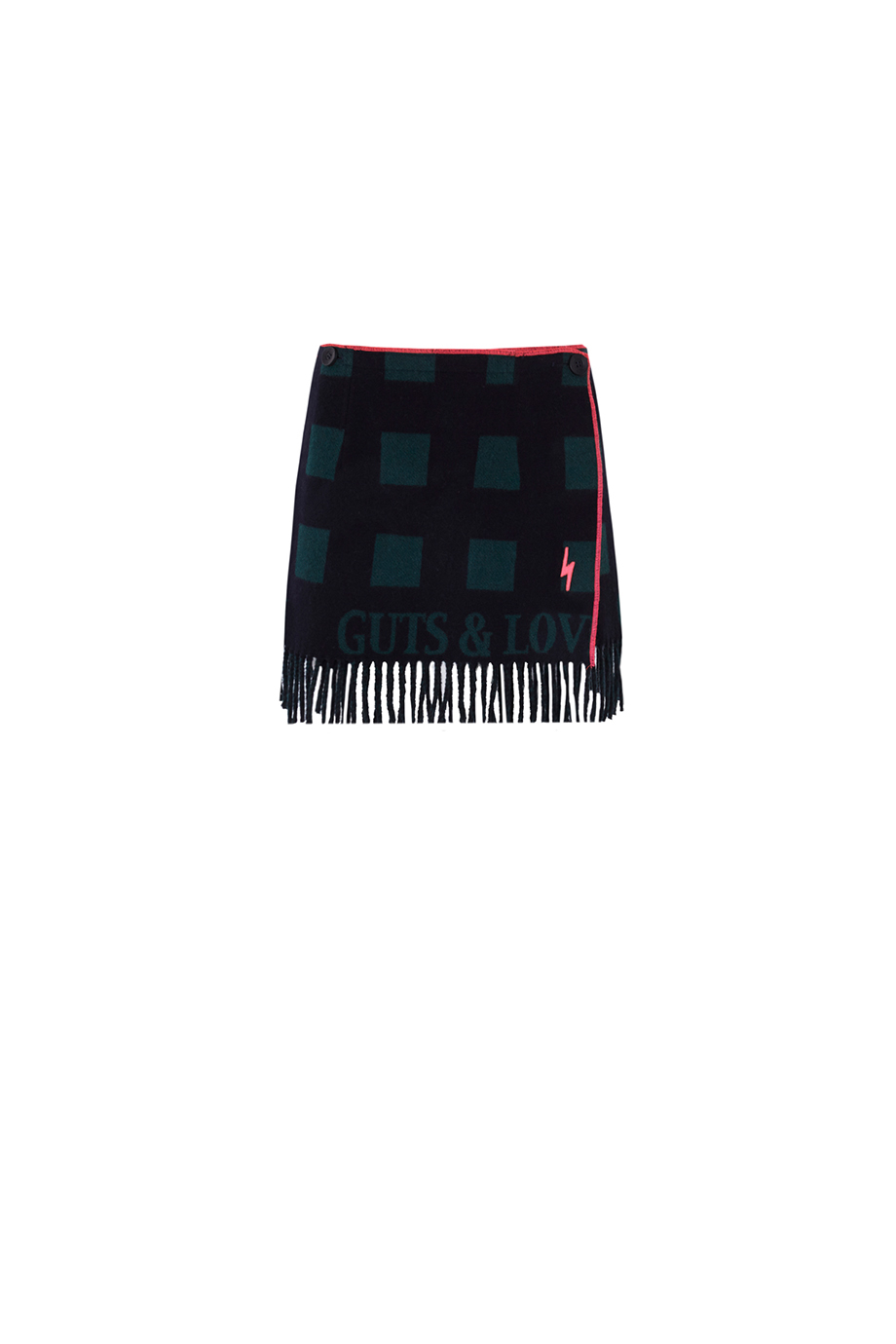 Mini Skirt Fringes RUSH by Guts and Love