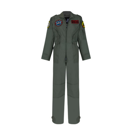 MONO TOP GUTS green COVERALL RUSH by Guts&Love vista delantera