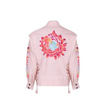 arizona jacket pink back