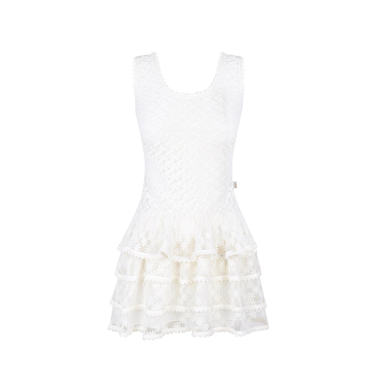 Vestido Blanco summer sunset Guts&Love