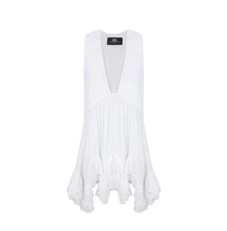 Vestido white emotions vest Guts&Love