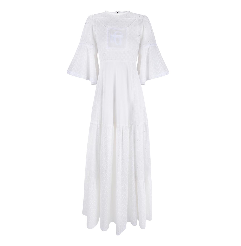 Vestido white net soul Guts&LOve Verano 21