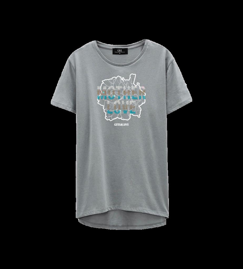 camiseta dia de la madre pecho